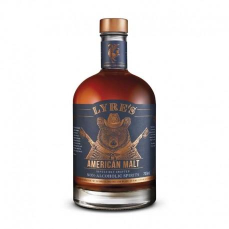 Lyre's American Malt Alkoholfri Whiskey 70 CL