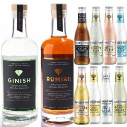 ISH Spririt Mix - Gin, Rom og mixere