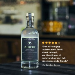 GinISH Alkoholfri Gin 50 cl