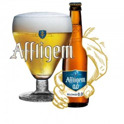 Affligem 0,0 Blond 10 x 33 cl