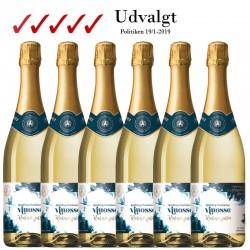 Supertilbud: 6 x Vinosse Sparkling Chardonnay Alkoholfri 75 cl