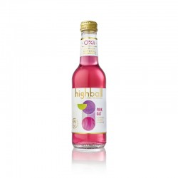 Highball Alkoholfri Pink Gin & Tonic 10 x 25 cl
