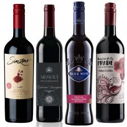 Alkoholfri Rødvin smagskasse