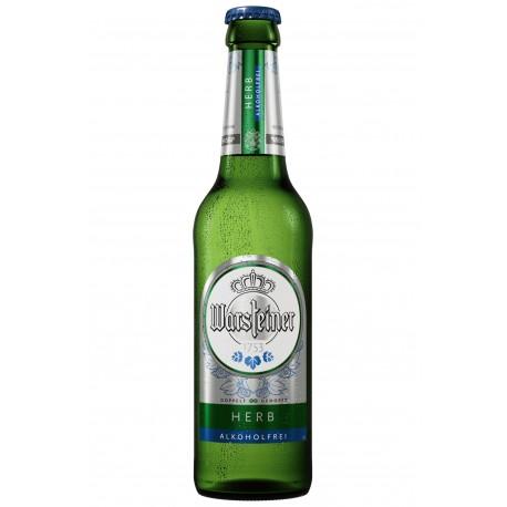 Warsteiner Herb Alkoholfri pilsner 12 x 33cl (inkl pant)