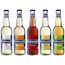 Sortiment Bionade Sodavand ØKO 12 x 33 cl