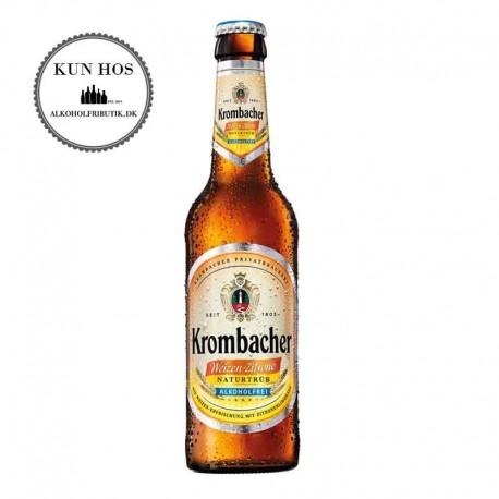 Krombacher Alkoholfri Hvede-Citron Øl