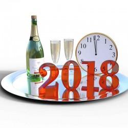 Alkoholfri champagne nytår