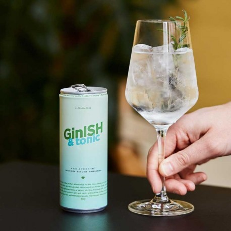 GinISH & Tonic Alkoholfri Drink 10 x 20 cl