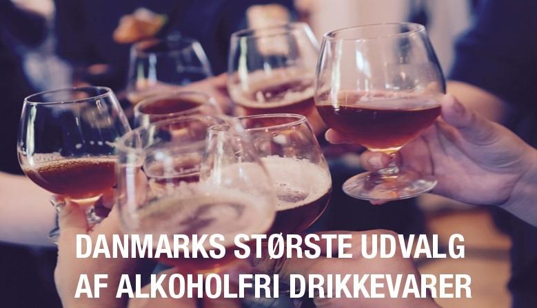 Størst udvalg af alkoholfri drikkevarer