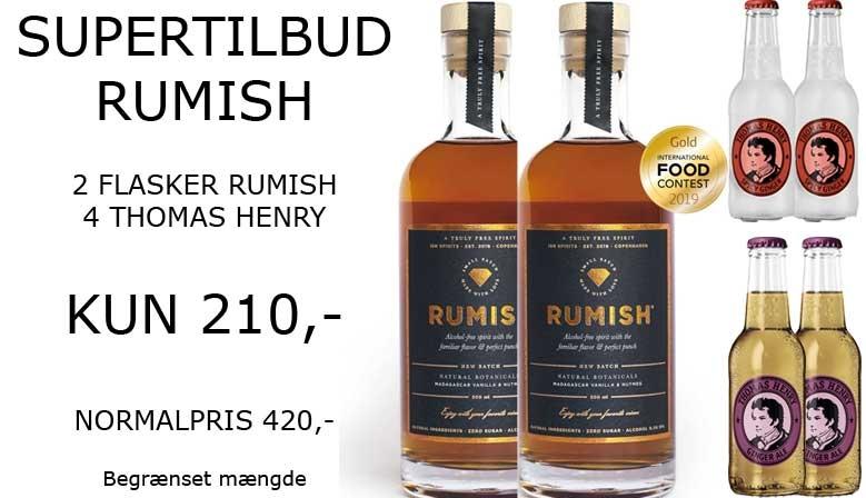Supertilbud på alkoholfri RumISH