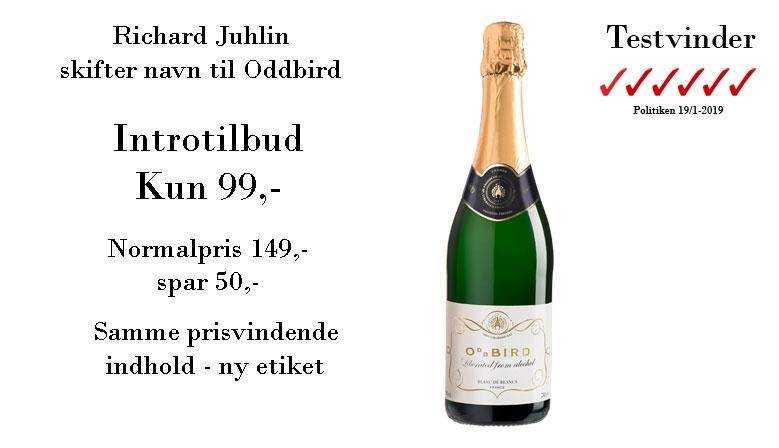 Richard Juhlin skifter navn til Oddbird