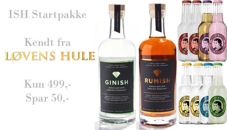 Alkoholfri rom og gin fra ISH