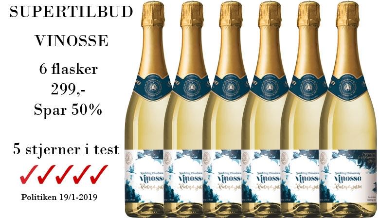 Supertilbud Vinosse Sparkling Alkoholfri vin